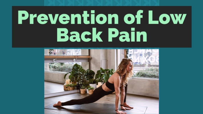 12 Tips For Prevention of Low Back Pain