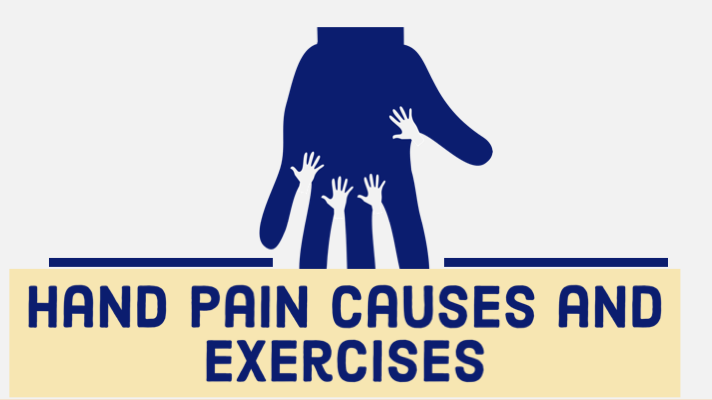 Hand pain Causes and Exercises