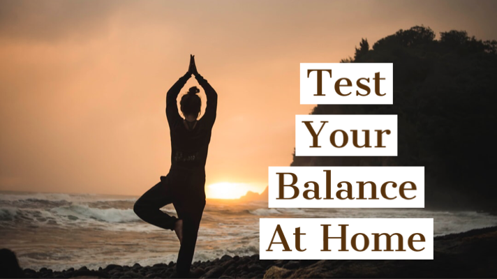 Test your balance at home